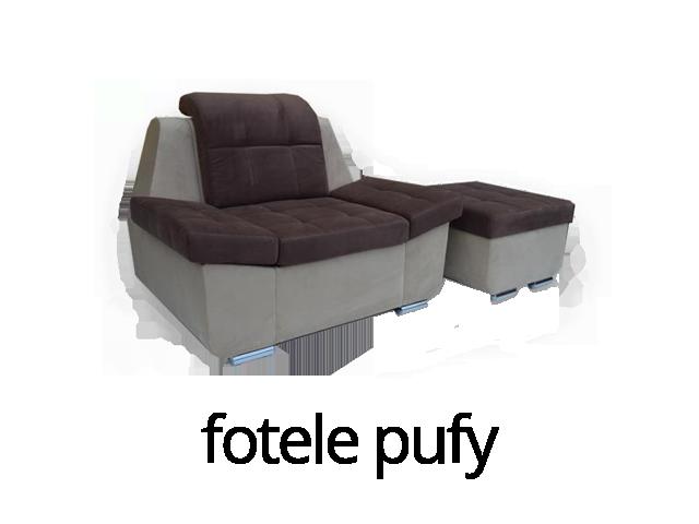 Fotele i pufy - MEBLE-NASTY