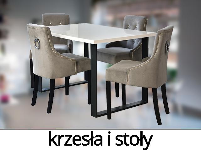 Krzesła, stoły, zestawy stołowe - MEBLE-NASTY
